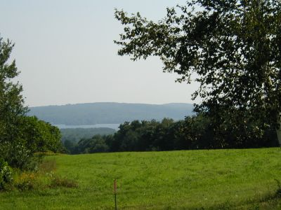 View from Taber Hill (spring/summer).  Photo by Mary Sabins (Vassalboro Maine)
